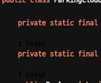인텔리제이 High Contrast Theme 에서 Code Vision 이 보이지 않을때 해결 방법2